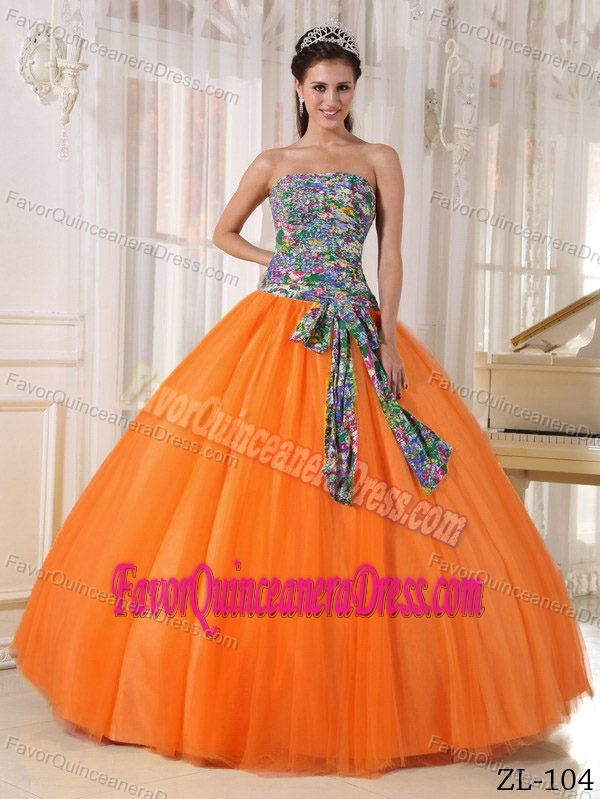 Colorful Special Ball Gown Sweetheart Quinceanera Dresses with Bowknot