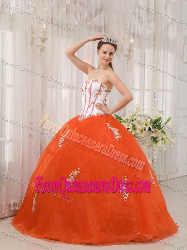 ball gowns Orange