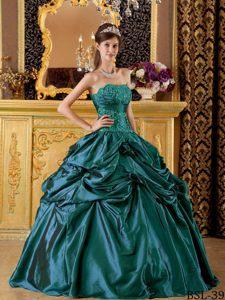 Teal Quinceanera Dresses 2013 2013 Brand New Appliqu...